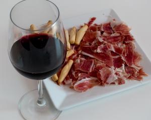 La mejor dieta del mundo: Jamón y vino