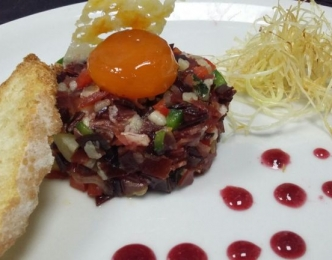 Tartar de jamón
