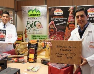 Embutidos La Hoguera recoge el premio al 'Mejor Chorizo Cular'.