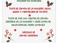 La Hoguera te propone distintos entrantes para Navidad